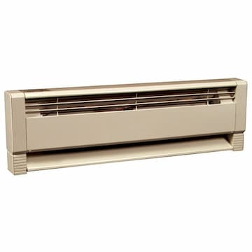 Up to 1500W at 240V, 5.8 Foot Hydronic Baseboard Heater
