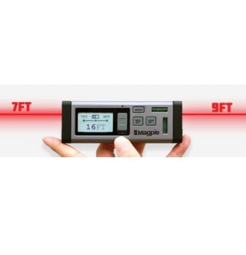 Rack-A-Tiers Magpie Bilateral Laser Distance Measurer