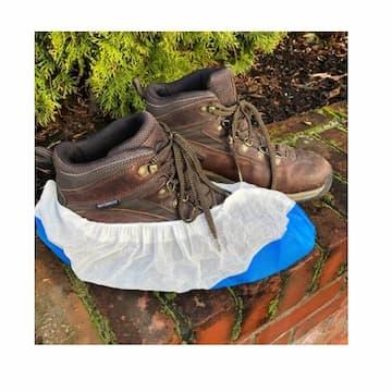Rack-A-Tiers Disposable Waterproof Boot Cover Booties, Bulk