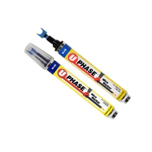 U-Phase Wire Marker, 4 Pack: Brown, Yellow, Orange and Gray Kit