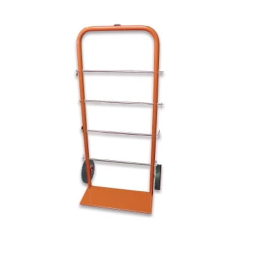 45-in Tall Dolly, Hand Truck for Cable Spools, 300 lb Capacity