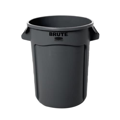 Rubbermaid 32 Gallon Gray Brute Container