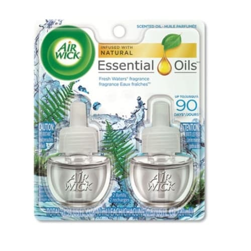 Reckitt Benckiser Fresh Waters Scented Oil Refill-0.71-oz