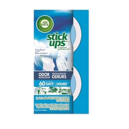 Reckitt Benckiser Air Wick Stick Ups Car Air Freshener in Crisp Breeze