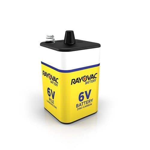 Ray-O-Vac 6V Spring Terminal Heavy Duty Lantern Battery
