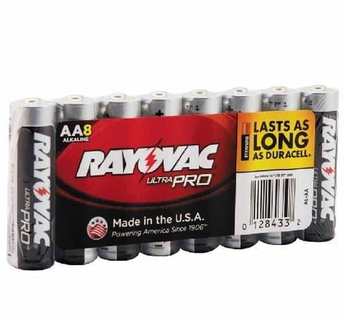 Ray-O-Vac AA Maximum Alkaline Shrink Pack Batteries
