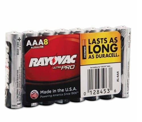 Ray-O-Vac AAA Maximum Alkaline Shrink Pack Batteries