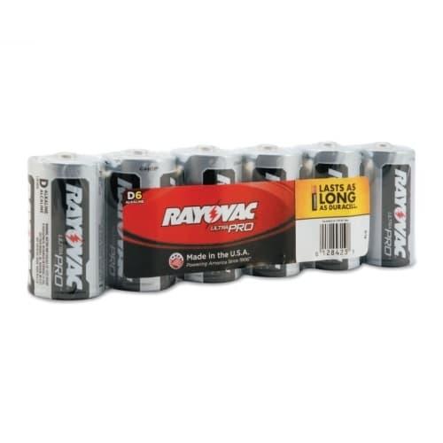 Ray-O-Vac 1.5 Volt D Batteries, Maximum Alkaline Shrink Pack