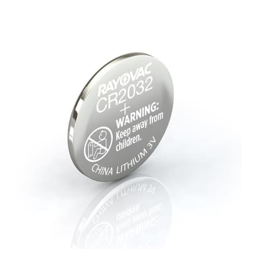 Ray-O-Vac 3 Voltage CR2032  Lithium Keyless Entry Battery