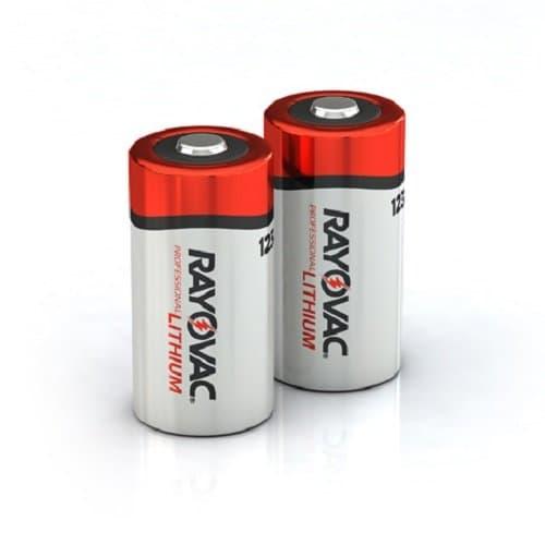 Ray-O-Vac 123A Lithium Batteries, 3 Volts
