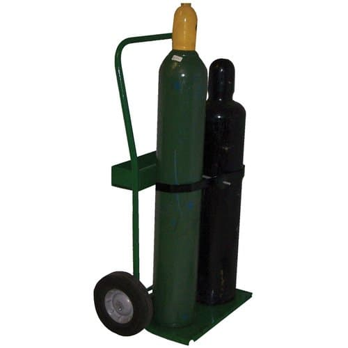 Saf-T-Cart 800 Series Cylinder Cart With Semi-Pneumatic