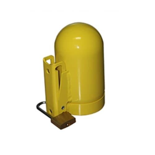 Saf-T-Cart Low Pressure Cylinder Cap, Yellow