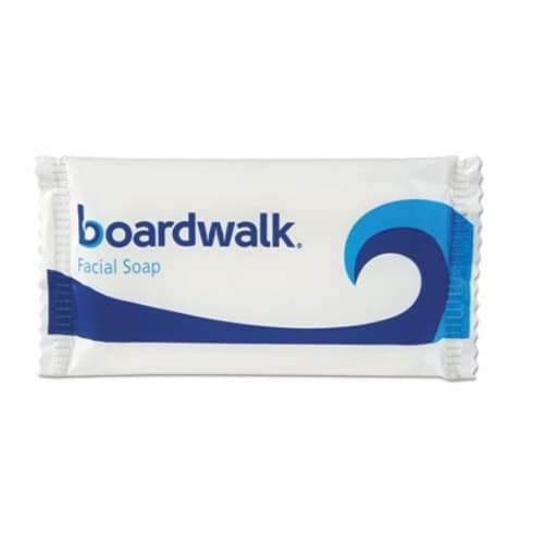Boardwalk Face and Body Soap, Foil Wrapped, Sweet Bouquet Fragrance, 0.5 oz. Bar