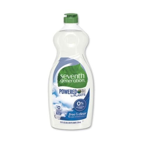 7th Generation Free & Clear Non-Toxic Natural Dishwashing Liquid 25 oz.