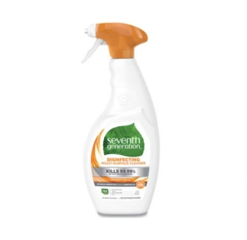 7th Generation Disinfecting Spray Cleaner In A Trigger Spray Bottle-26-oz
