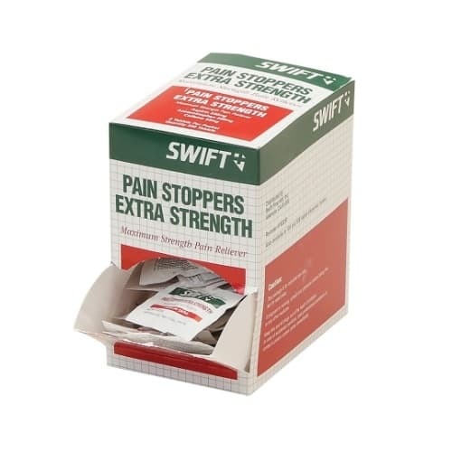 Swift First-Aid Pain Stoppers Extra Strength Pain Relievers