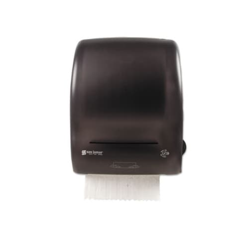 San Jamar Mechanical Towel Dispenser, Black
