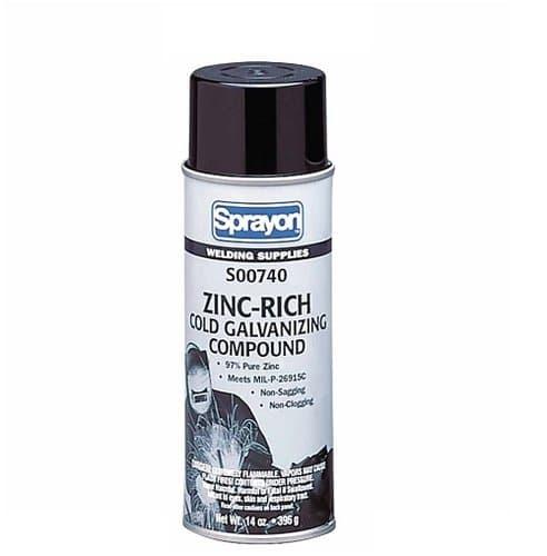 Sprayon 16 oz Aerosol Zinc-Rich Cold Galvanizing Compound