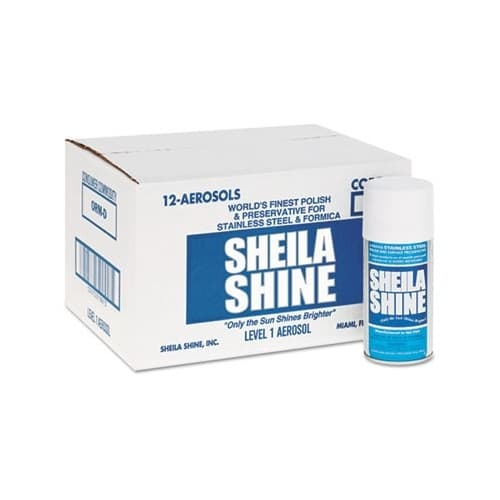 Sheila Shine Stainless Steel Cleaner & Polish, 10 oz