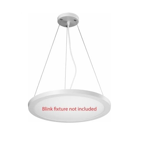 Nuvo 15 Inch Blink Pendant Conversion Kit for LED Surface Mount Fixtures
