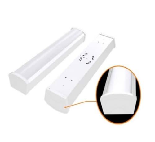 Satco 20W 2 Foot LED Utility Light Fixture, White, 4000K