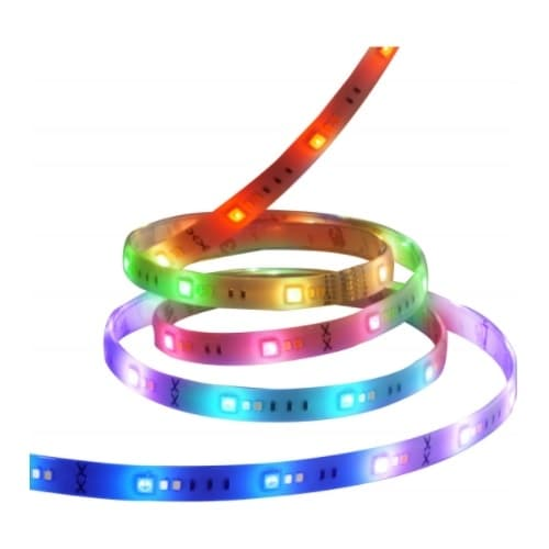 Satco 6-ft 20W Smart LED Strip Light, 120V, 1600 lm, RGBW