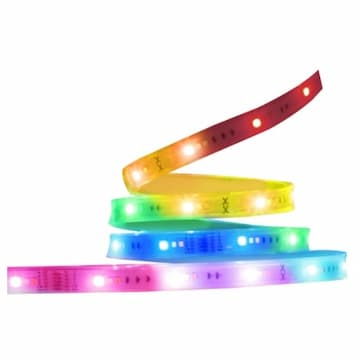 16-ft 28W Smart LED Strip Light, Outdoor, 120Vm 2500 lm, RGBW