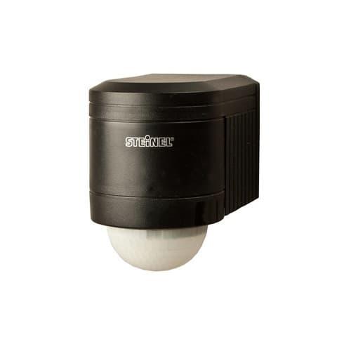 Steinel 240-deg Wall Outdoor Occupancy Sensor Black