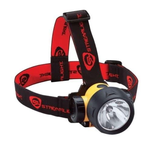 Trident LED Headlamp, 80 lm, Yellow