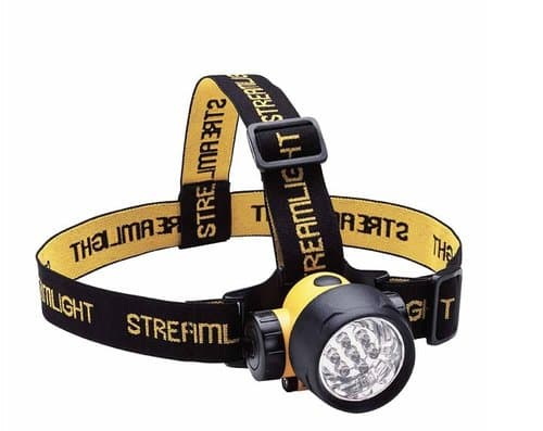 Streamligt 3 AAA, 50 Lumens, Yellow Septor LED Headlamps with Batteries