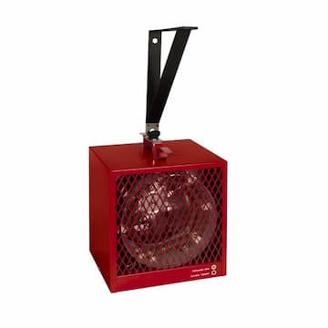 Stelpro 4000W Portable Construction Heater, 240 V, Red