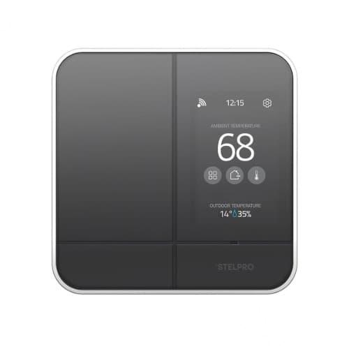 Stelpro Maestro Zigbee Smart Programmable Thermostat, Black