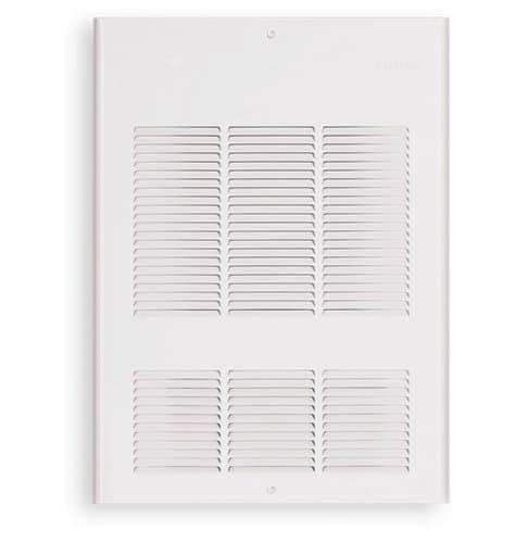 12000W Wall Fan, 240 V, Thermostat, Silica White
