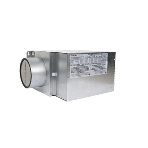3000W Make-Up Duct Heater, 208V, 3 Ph, Gray