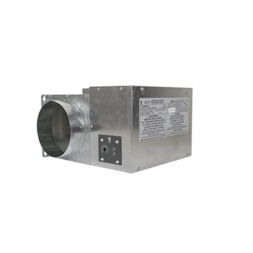 """5000W Duct Heater, 8"""" Round Duct, 240V, 50 CFM"""