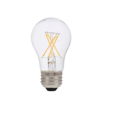 5.5W Natural™ LED A15 Bulb, 0-10V Dimmable, E26, 450 lm, 120V, 2700K, Clear