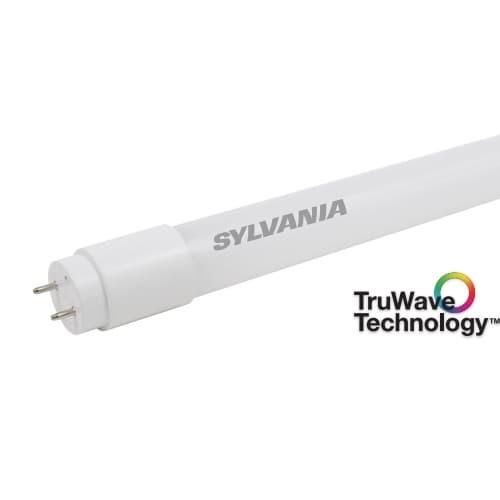 LEDVANCE Sylvania 4-ft 13W LED T8 Tube, Plug & Play, 0-10V Dimming, G13, 2000 lm, 3000K
