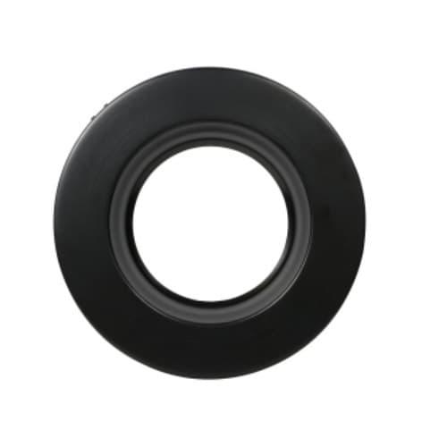 LEDVANCE Sylvania 5/6-in Trim Ring for RT5/6 Downlight, Non-Gimbal, Black