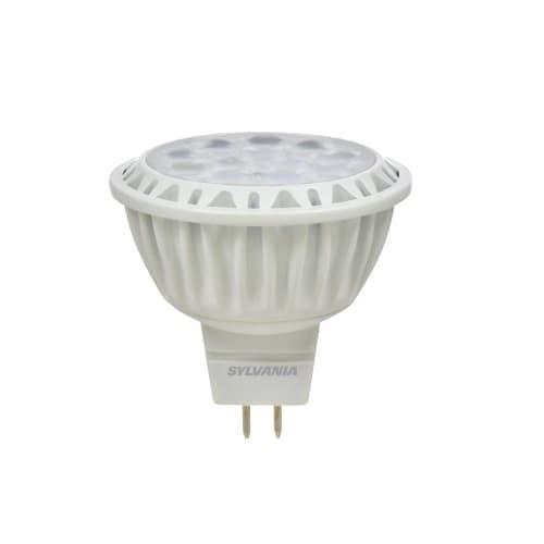 LEDVANCE Sylvania 9W LED MR16 Bulb, 50W Hal. Retrofit, 0-10V Dimmable, 35 Deg., GU5.3, 700 lm, 12V, 3000K