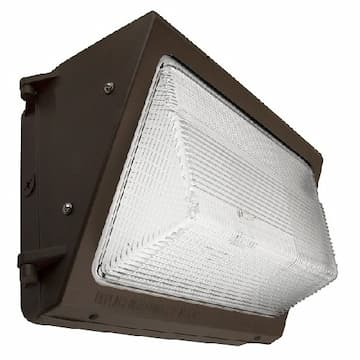 115W LED Wall Pack w/ Photocell, Semi Cut Off, 15525 lm, CCT Selectable