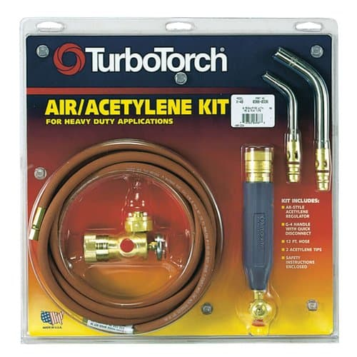 TurboTorch Swirl Air Acetylene X-3B Kit