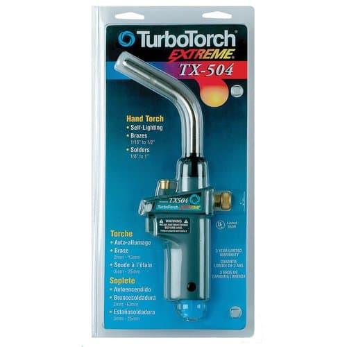 TurboTorch TX504 Torch Swirl Self Lighting Torch Swirl