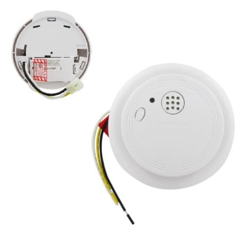 USI Hardwired Ionization Smoke Detector and Fire Alarm