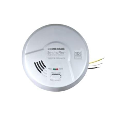 USI Sensing Plus Smoke & Fire Alarm, Hardwired