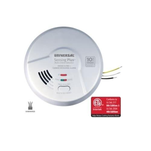 USI Sensing Plus Combo Smoke, Fire & CO Alarm, Hardwired
