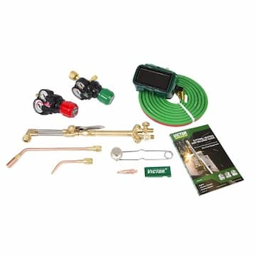 Victor Cutting, Heating and Welding Outfit Kit, Acetylene/Oxygen