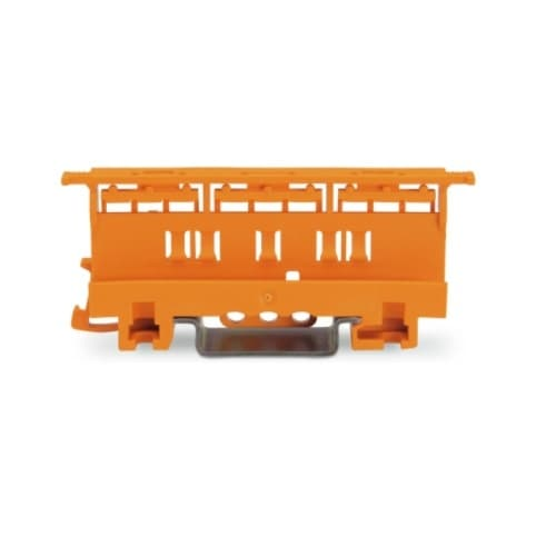 Wago 6 mm Mounting Carrier for 221 Series Lever-Nuts, Orange