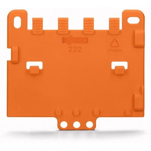 Wago Strain Relief Plate for 221 and 222 Series Mounting Carrier