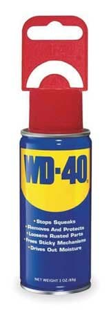 WD-40 3 oz. WD-40 Lubricant Open Stock Can, Pack of 12