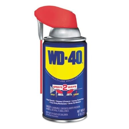 WD-40 8 oz. WD-40 Lubricant Open Stock Can, Pack of 12